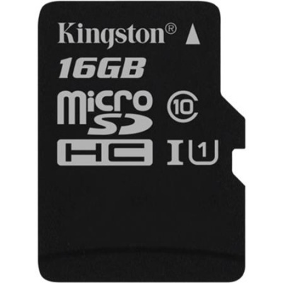 "Memóriakártya, microSDHC, 16GB, C10/U1, 80/10MB/s, KINGSTON ""Canvas Select"""